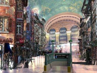 Grand Central Station Rendering of August Strasse