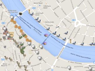 AR Map Basel